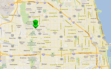 Elmwood Care Map